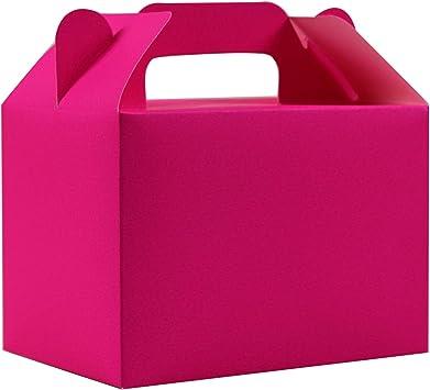 Stomping Ground Toys Cajas para Dulces - 12 Cajas de cumpleaños Colores Arcoíris - Cajas Galletas - Cajas Regalo Personalizadas para Baby Shower, Fiestas Niños, Manualidades: Amazon.es: Juguetes y juegos