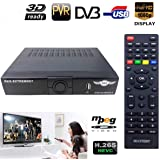 RKS EXTREAM007 HD-FREE TO AIR SET TOP BOX WITH DUAL USB PORT AND WIFI (MPEG 4)SETELITE RECEIVER(NO MONTHLY RECHARGE REQUIRED) Record Plug Play