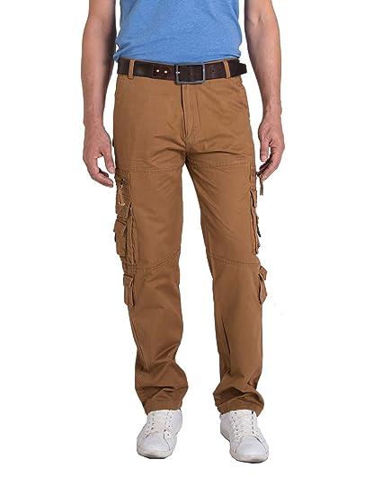 6b57cc2e28c Meerway Hombre Pantalones de Cargo del Estilo Vintage Pantalones de Trabajo  Invierno: Amazon.es: Ropa y accesorios