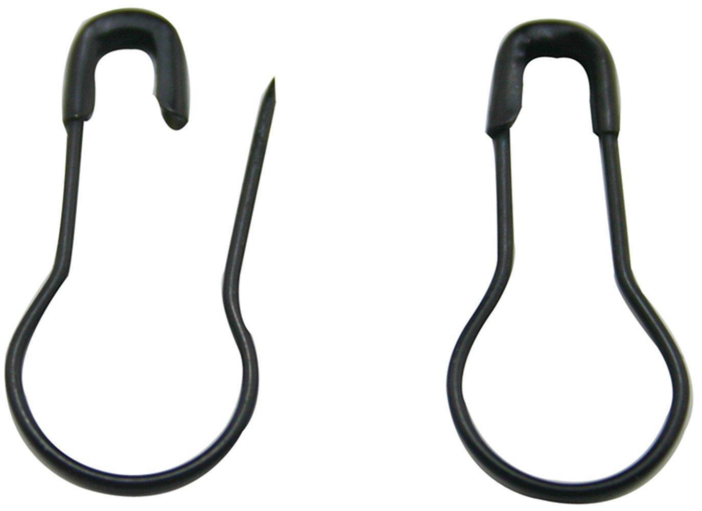 black 300 Pcs Calabash Shape 0.8 Metal Safety Pins Bulb Pin Bead Needle Pins Sewing Clothing Tag Pins DIY Home Handcraft Accessories