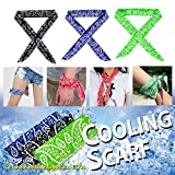 Best Cooling Scarves - The Elixir Ice Cool Scarf Neck Wrap Cooling Review
