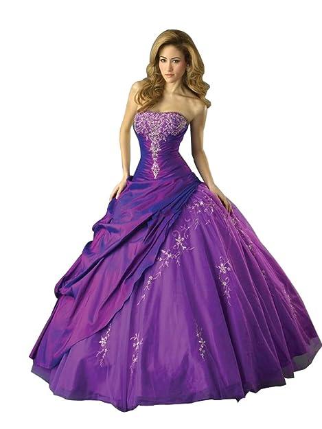Qumei novia boda vestido gran día vestido Vestido de fiesta por la noche fiesta Prom Vestido