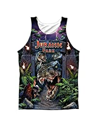 Jurassic Park Welcome To The Park Mens Sublimation Tank Top Shirt