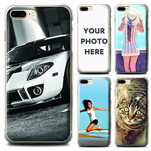 STUFF4 Personalized Photo Mobile Phone Case/Cover for Apple iPhone 7 Plus / Customize/Create/Design/Make Your - Customize Customise