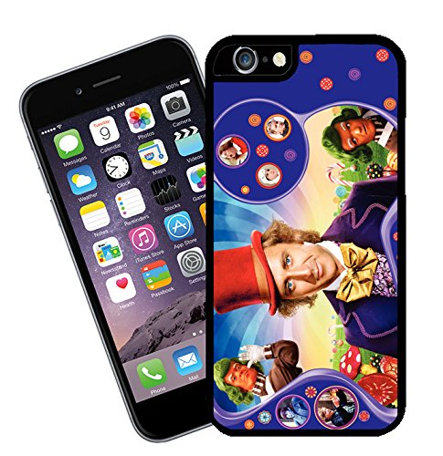 Willy Wonka, movie phone case - This cover will fit Apple model iPhone 6 - By Eclipse Gift Ideas