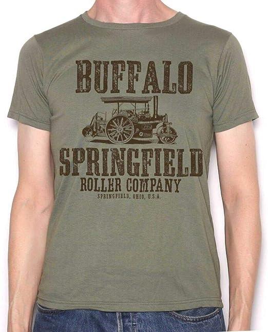 Buffalo Springfield T Shirt - Roller Company 60's Pop T Shirt Neil Young CSNY