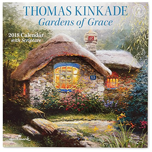 Thomas Kinkade Gardens of Grace 2018 Wall - Lang Grace