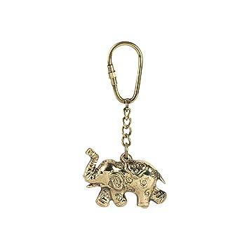 Vidal Regalos Llavero Laton Elefante 9 cm: Amazon.es: Hogar