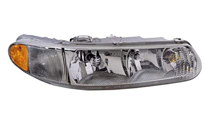 Replacement Front Headlight with Bulbs Passenger 32ft Models RV Motorhome Right Tiffin Allegro 2002-2004