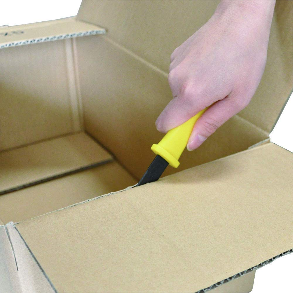 CANARY Corrugated Cardboard Cutter''Dan Chan'' [Non-Sticking Fluorine Coating], Yellow (DC-190F-1) (5 pcs) by CANARY (Image #8)