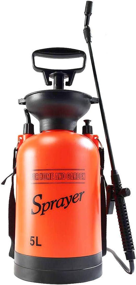 Homeself 5L Jardín Pulverizador de presión, 1.3 galones Pump ...