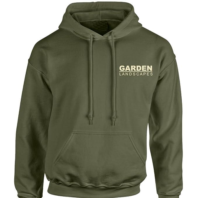 iClobber Garden Landscapes Business Company Work Wear Men's Hoodie Hoody  Sweatshirt: Amazon.co.uk: Clothing