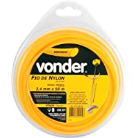 Fio De Nylon Redondo Vonder 2.4 X 50 M
