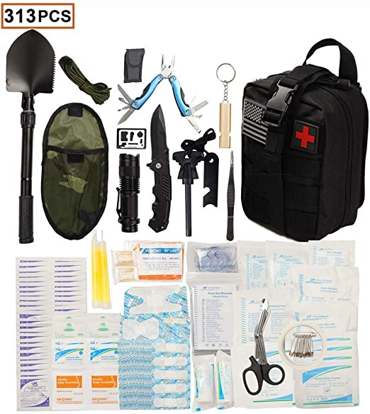 36 Emergency Survival Drinking Water Pouches For Kits BOB Disaster MRE