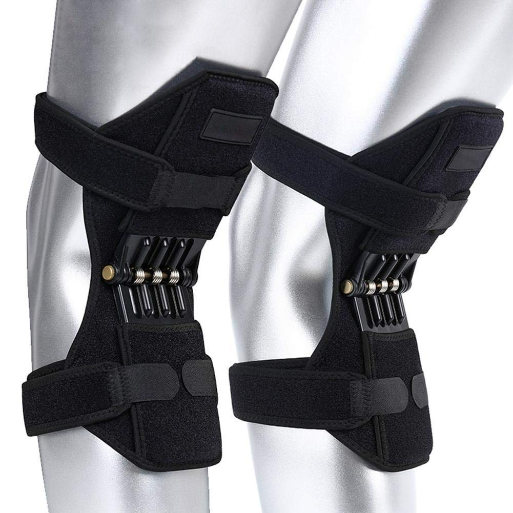JOAN DOMINGUEZ 1 Pair Of Sports Spring Knee Climbing Running Knee Strengthening Knee Pad Protection Knee Massager Tool