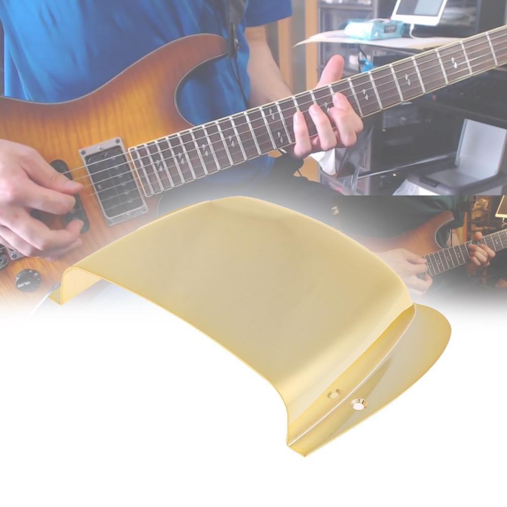 Broadroot carcasa Metal para Guitarra Eléctrica Bass Puente silla de montar accesorios, negro: Amazon.es: Instrumentos musicales