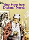 img - for Great Scenes from Dickens' Novels (Dover Classic Stories Coloring Book) book / textbook / text book
