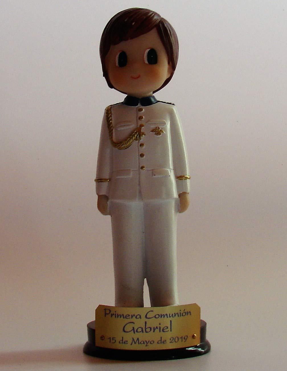 FIESTADEKOR Figura para Pastel (Tarta) niño comunión capitán ...