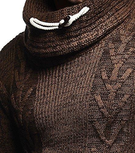 Leif Leif Camel Sweater braun Nelson Sweater Nelson Camel OqnSddUPf