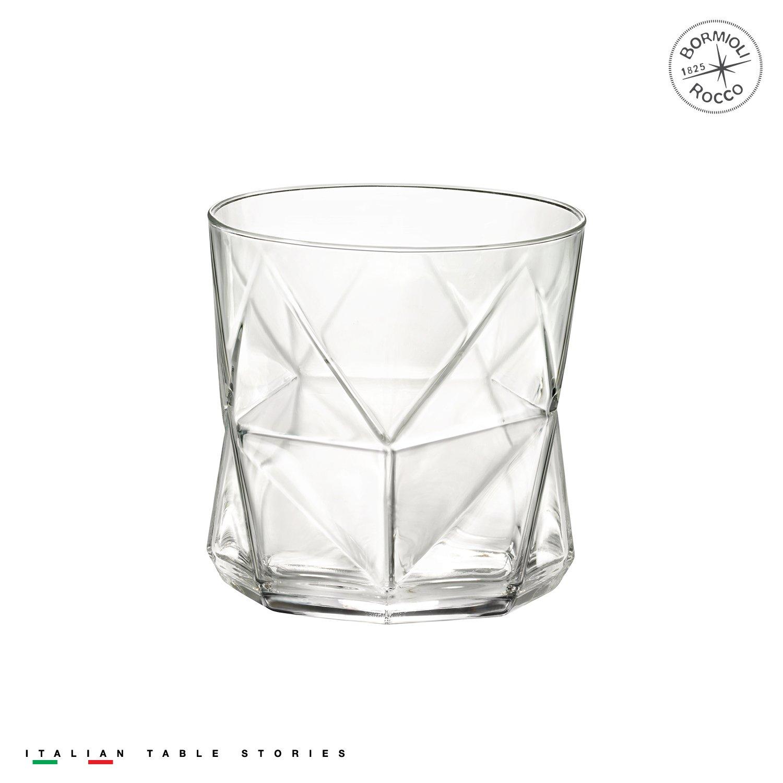Bormioli Rocco Cassiopea Rocks Glass, Set of 4by Bormioli Rocco Bormioli Rocco Glass Co. Inc. 234510GRB021990