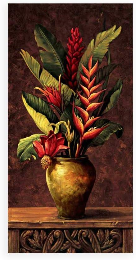 DìMò ART - Impresión sobre Lienzo, póster o Cuadro Eduardo Tropical Arrangement I