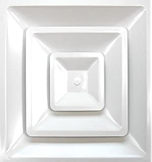 Accord ABCD2X2 Ceiling Diffuser With Square Drop In Ceiling, 24 Inch X 24