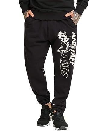 Amstaff Mata - Pantalones de chándal Negro M: Amazon.es ...