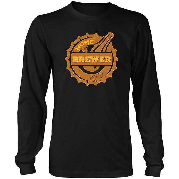 Home Brewerfun Gifts For Beer Drinkercool Drink Tshirt