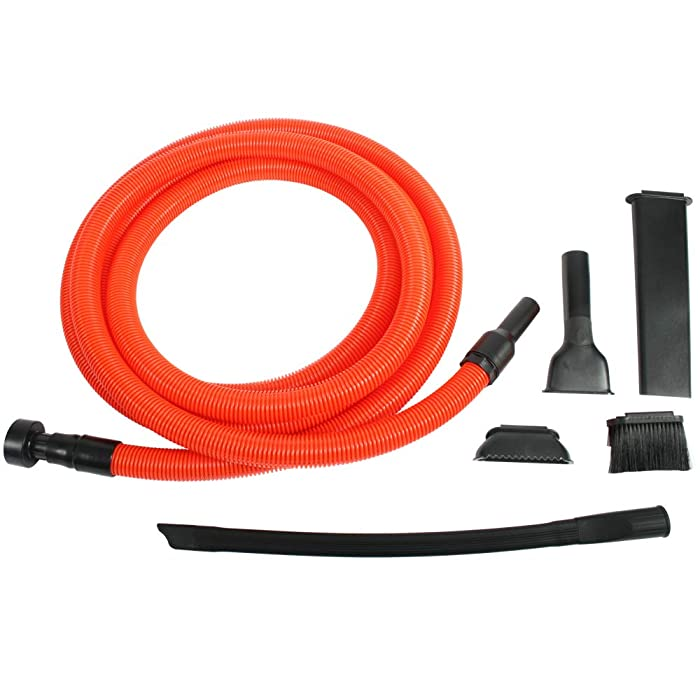 Cen-Tec Systems 93543 Shop Vacuum Garage Kit, 20', Orange/Black