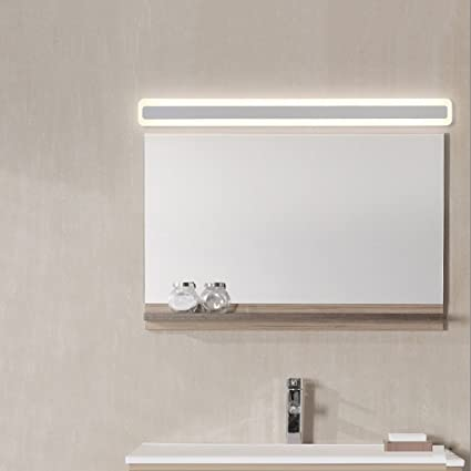 Genial Acrylic Mirror Front Light LED Bathroom Bathroom Mirror Cabinet Lights  Waterproof Anti Fog Make
