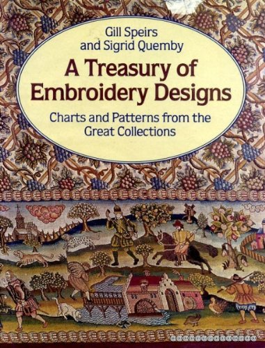 Embroidery Chart - A Treasury of Embroidery Designs Charts and Patterns from the Great Collections