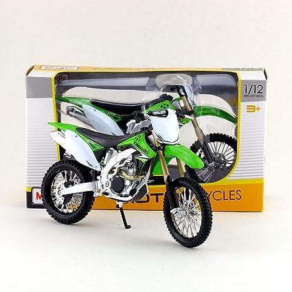 Amazon.com: Greensun - Moto de motocicleta de escala 1:12 ...