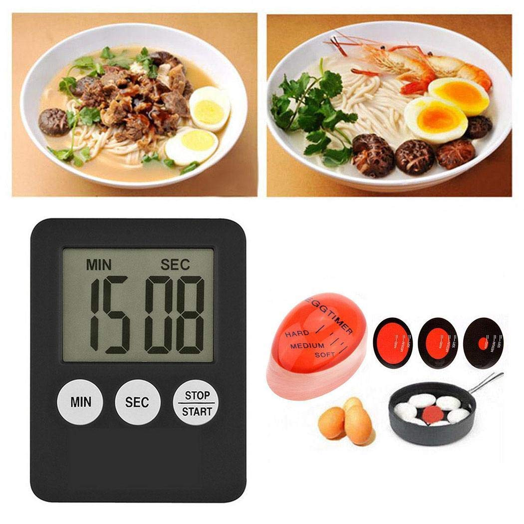 Generic LED Digital Kitchen Timer White 1 Pcs New Mini Slim LED Digital Kitchen Cooking Timer Clock Count Up Down Cooking Alarm Timers