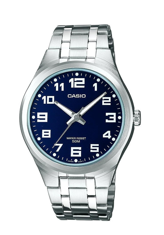 Casio Collection Reloj Analógico de Cuarzo para Hombre con Correa de Acero