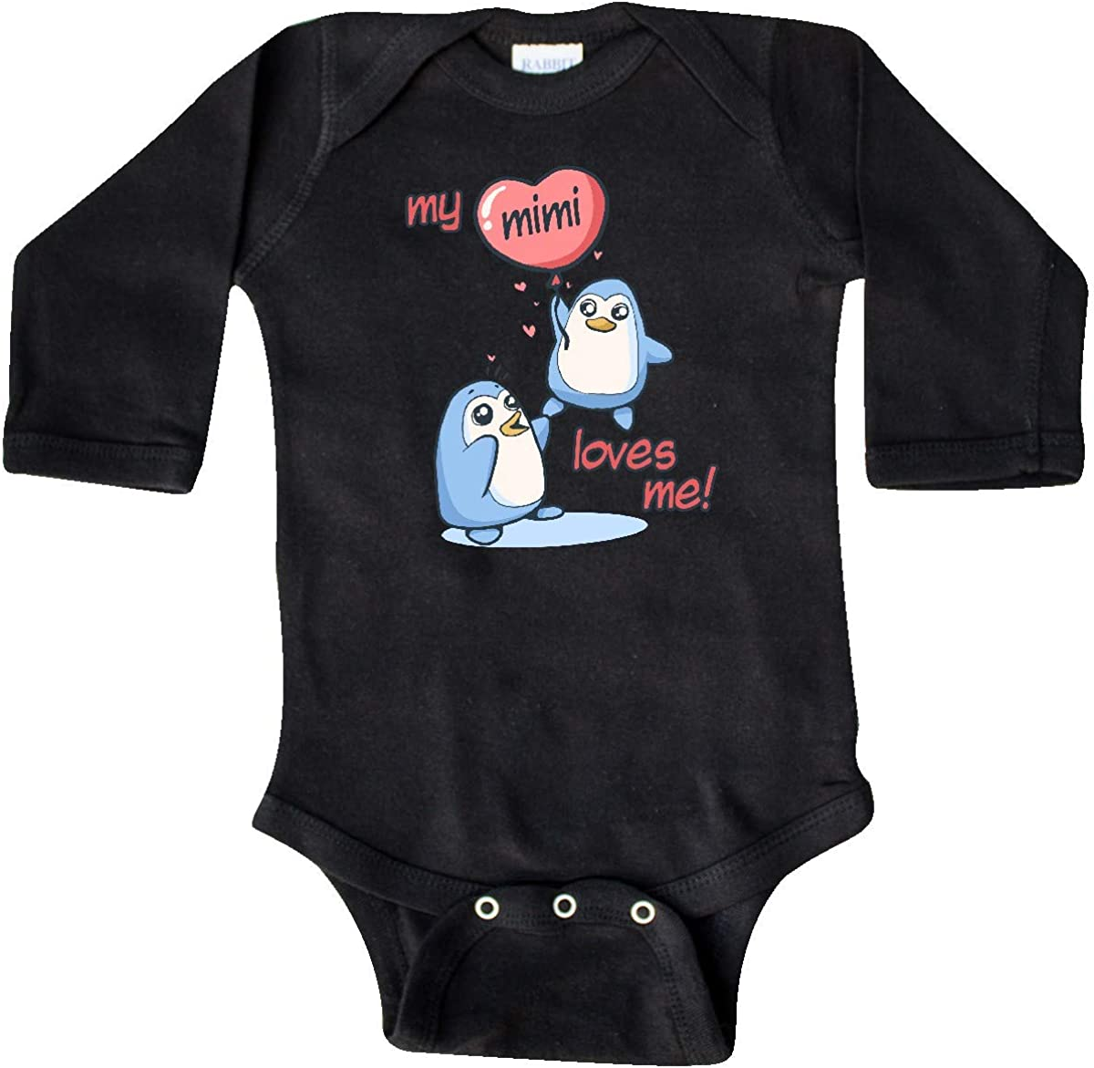 inktastic My Mimi Loves Me Long Sleeve Creeper