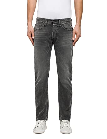 Mens Newbill Loose Fit Jeans Replay