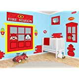 Wonderful Fisher Price Fire Station Wall Decals Part 31