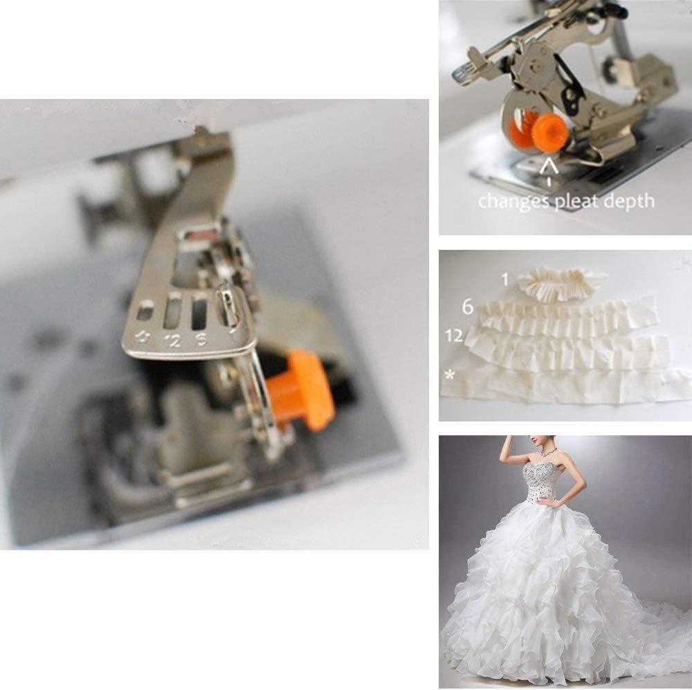 Onerbuy Ruffler Máquina de coser Prensatelas Recolección de ...