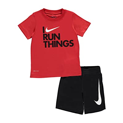 NIKE Little Boys' 2-Piece Outfit (Sizes 4-7)