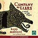 Company of Liars Audiobook by Karen Maitland Narrated by David Thorpe