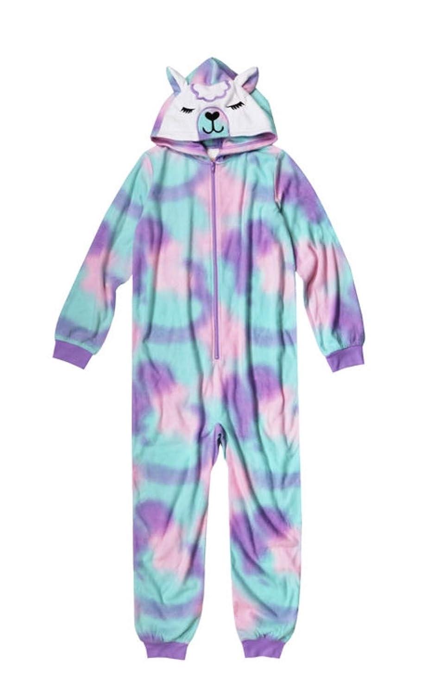 Girls Llama Blanket Sleeper//Pajamas Size 5T Arizona Jean Co
