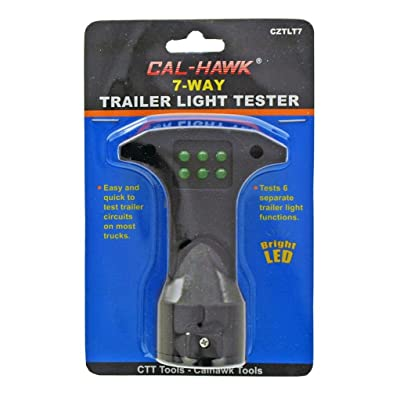 Cal Hawk Tools CZTLT7 Trailer Light Tester: Home Improvement