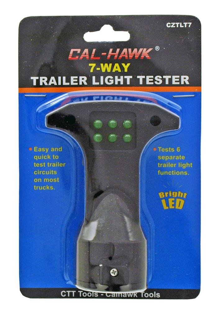 Amazon.com: Cal Hawk Tools 7-Way Trailer Light Tester: Automotive
