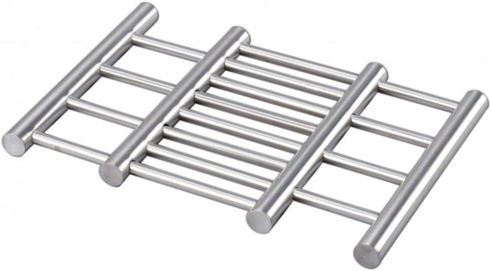Salvamanteles metal de acero inox REDONDO 16 cm