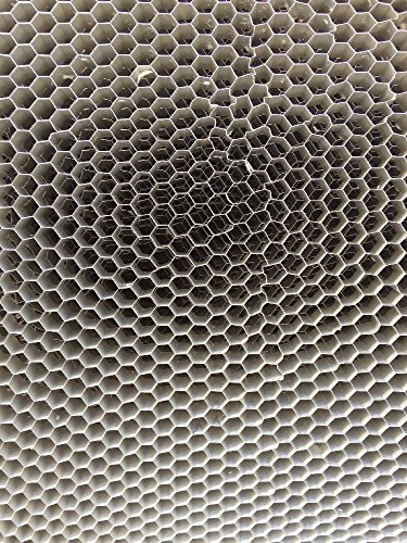 "Plascore Lot of 40 Honeycomb Aluminum Core Panels 96"" X 28"" X 3/8"" (1/4"" Holes) from Plascore Inc."