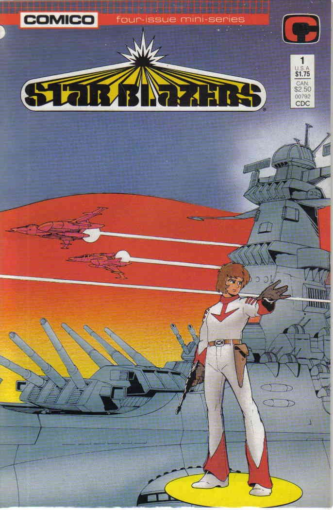 Star Blazers #1 VF/NM ; COMICO comic book
