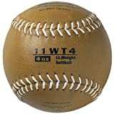 Markwort Color Coded Weighted 11-Inch Softball (4-Ounce, Gold)