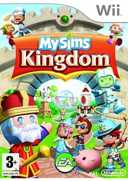 Import Anglais]My Sims Kingdom Game Wii: Amazon.es: Videojuegos