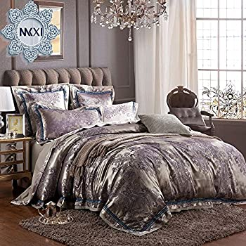 Amazon Com Mkxi Sateen Cotton Bedding European Luxury
