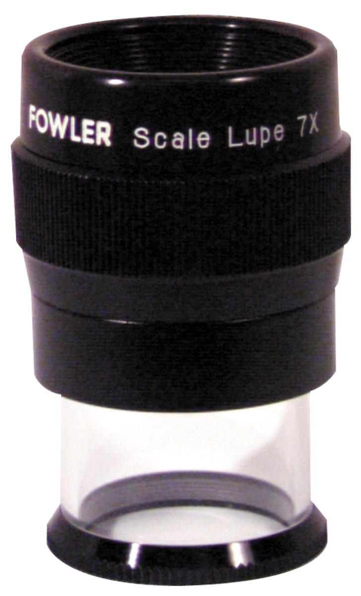 Fowler 52-660-007 Optical Magnifier, 7X Magnification
